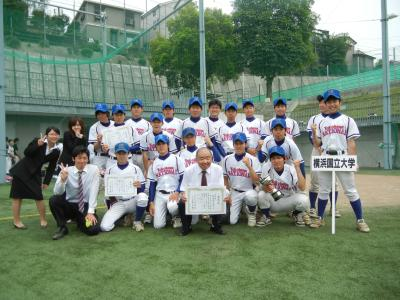 準硬式野球部が全日本大学準硬式...